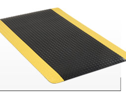 "15/16"" Thick Diamond Plate Anti Fatigue Matting"